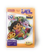 Dora The Explorer Game Fisher-Price for iXL Learning System 3-7 yrs Boys... - $12.08
