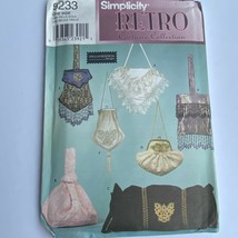 Simplicity Retro Purse Sewing Pattern 9233 Heigl & Nordstrom Designs - $7.68