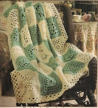 GRANNY SAMPLER AFGHAN BOOKLET: granny squares crochet patterns - $19.95