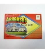 Vintage 1953  Fold-Out Postcard ARKANSAS The Wonder State  Views - Teich... - $12.50