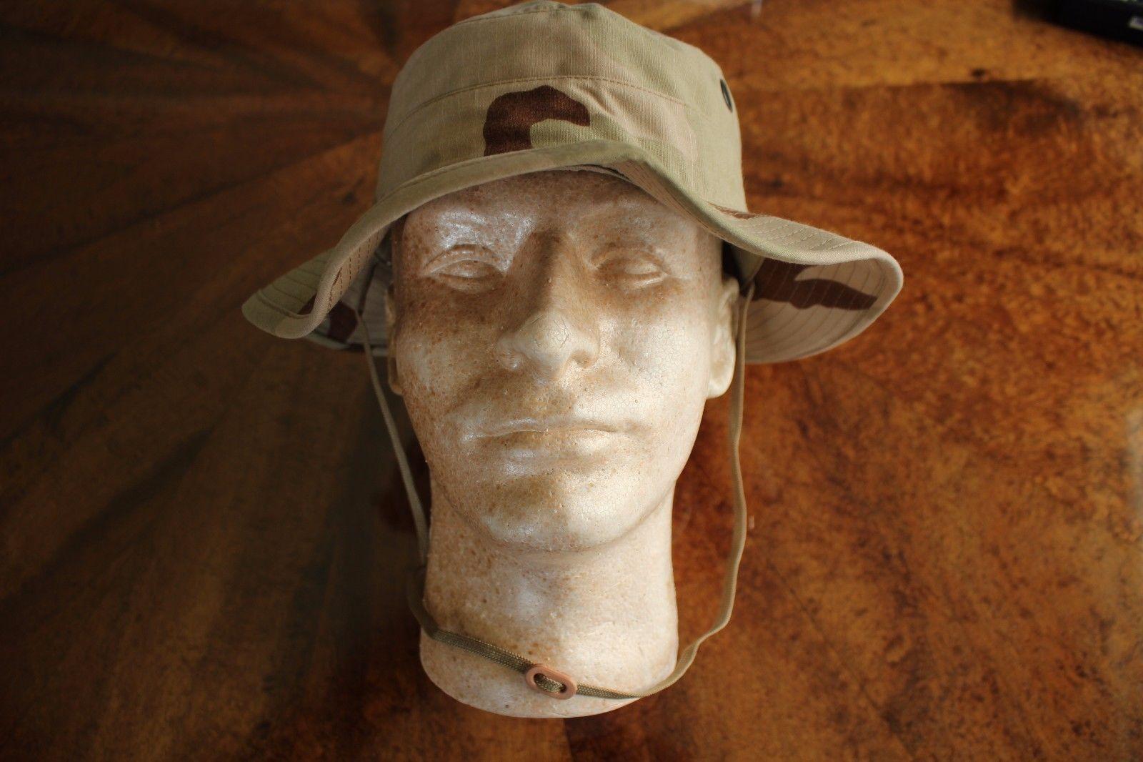 USMC MARINE CORPS GRN MARPAT TWILL CAMOUFLAGE COMBAT FLOPPY HAT BOONIE CAP 7 1//2