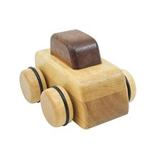 Bijou Bino - Wooden Toy carwith Music Box for6-Month-Old Child Senses ... - $49.93
