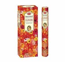 Hem Precious Flowers Incense Sticks Beautiful Handmade Natural Fragrances - $16.23
