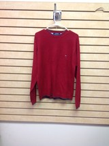 Tommy Hilfiger Men's Red Large Long Sleeve Crew neck Sweater - €13,22 EUR