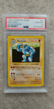 Pokemon Machoke 34/102 Shadowless Base Set PSA 10 1999 Pokemon TCG - $39.99