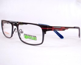 Teenage Mutant Ninja Turtles Rowdy Blue Boys Eyeglasses Authentic New Metal - $58.41