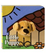 Chronicle Little Puppy Bear Finger Puppet Book - $18.00