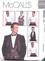 8000 UNCUT McCalls SEWING Pattern Mens Vest Bow... - $7.64