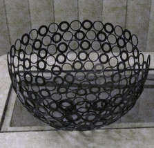Tammy Roy Handmade Original Reclaimed Recycled Metal Washer Art Display Bowl - $49.99