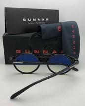 New GUNNAR Computer Glasses MENLO 56-18 145 Onyx Black Frame w/ Amber Yellow