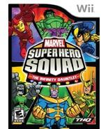 Marvel Super Hero Squad The Infinity Gauntlet - Nintendo Wii [Nintendo Wii] - $6.32