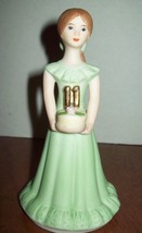 Enesco Vintage Growing Up Doll Birthday Series Brunette Girl Age 11 - $24.74