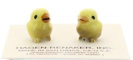 Hagen-Renaker Miniature Ceramic Bird Figurine Canary Tweetie Baby Chick Set of 1