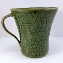 Lenox Desert Flora Verde Mug 12oz Cup Green Southwestern Coffee Tea - $15.84