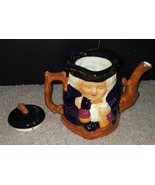 Staffordshire Shorter & Sons Two Faced Toby Teapot Vintage - $39.15