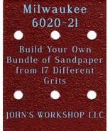 Build Your Own Bundle Milwaukee 6020-21 1/4 Sheet No-Slip Sandpaper 17 Grit - $0.99