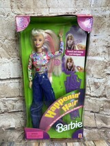 NRFB Mattel Happenin Hair Barbie Doll w/ Stencils and Stamps 1998 #22882 - $32.66