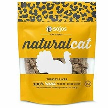 Sojos Natural Cat Turkey Liver Freeze Dried Cat Treats - $24.99