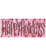 HAPPY HOLIDAYS 10 Cards & Envelopes Christmas Hanukkah Kwanzaa Original ... - $17.50
