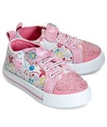 Peppa Pig Shoes Size 5 or 6 Rhinestones Toddler Size - £15.51 GBP