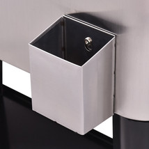 Patio Cooler Rolling Outdoor Stainless Steel Ice Beverage Chest Pool Dur... - €193,88 EUR