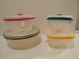 Collapse it Silicone Food Storage Containers 4-Piece Variety Set  - $39.27