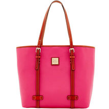 Dooney & Bourke East/West Hot Pink Pebble Grain... - $449.99