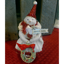 """Candy"" Snowman Holiday Figurine - $24.99"
