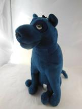 "BAGHEERA 10"" Panther Cat Plush Stuffed Animal Jungle Book DARK BLUE - $12.86"