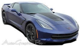 2014-2017 Chevy Corvette C7 HOOD BLACKOUT Vinyl... - $109.63