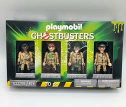 Playmobil 70175 Ghostbusters Team Collector's Set Action Figures 30 Pc - $21.77
