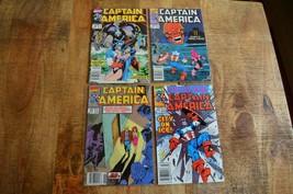 Captain America #369-372 (Marvel Comics, 1990) Newsstand NM Comic Books ... - $19.24