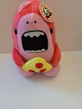 Peek A Boo Pink Plush Stuffed Scooby Pink Shark Holding Pizza Pepperoni ... - $15.88