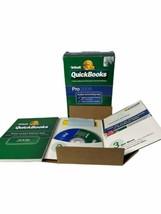 INTUIT QUICKBOOKS PRO 2008 FOR WINDOWS FULL RETAIL US VERSION  - $98.16