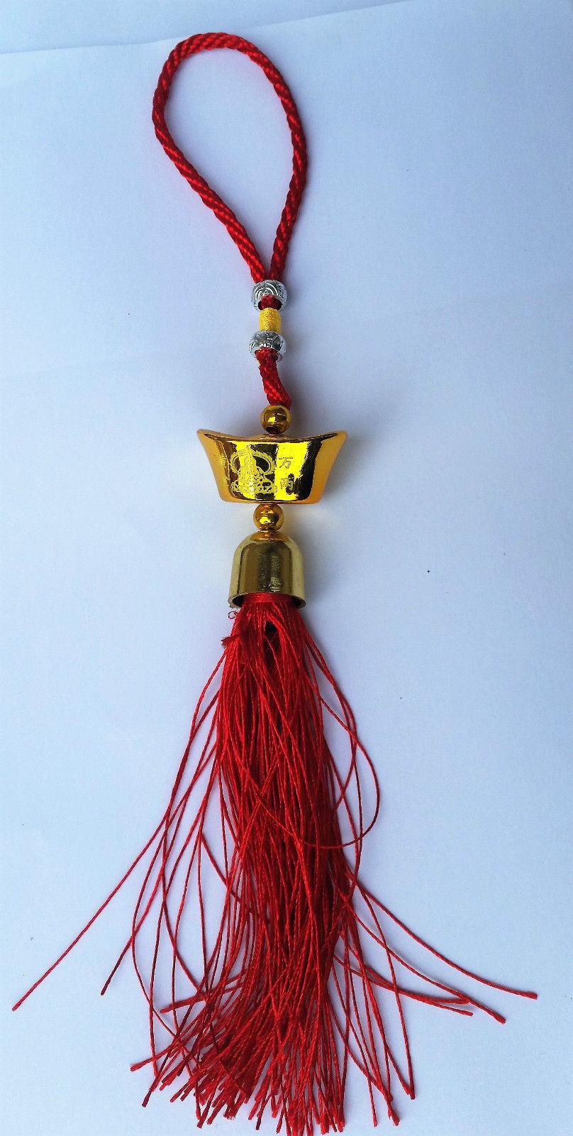 Talisman Priction Amuleto Chino Feng Shui Charm Tipo Anillo Puerta Colgante