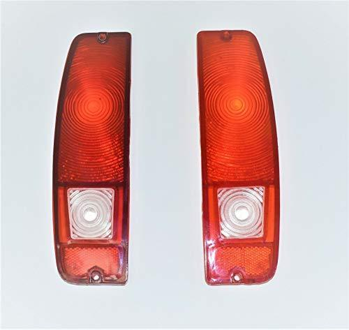 A-Team Performance Tail Light Lens Set Compatible with 64-72 FORD Truck F100 F-1