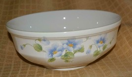 "Vintage Mikasa Blue Bell Serving Bowl 8.5""  F3101 - $14.54"
