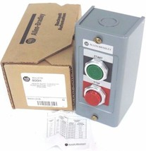 NIB ALLEN BRADLEY 800H-2HA PUSHBUTTON STATION 800H2HA SER. M TYPE 1