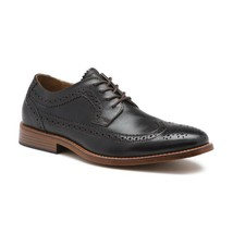 Men Bass Usa Leather Classic Dress shoe WingTip Oxford 70-80544 Clinton ... - $74.99