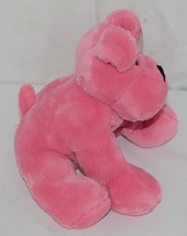 Fiesta Brand Comfies Collection A52862 Hot Colors Pink Plush Puppy Dog image 2