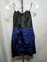 Express Black & purple Strapless Dress. NWT! Size 0 - $35.88
