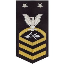 NAVY E9 MALE RATING BADGE: AVIATION SUPPORT EQUIPMENT TECHNICIAN(AS) - V... - $52.45