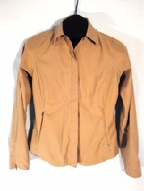 "Columbia Grt Tan Jacket Small 22"" L X 17"" Across Chest X 24"" Sleeves (B) - $28.31"