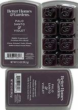 Better Homes and Gardens - Palo Santo and Violet 3.5oz Scented Wax Cubes 3-Pack - $24.01