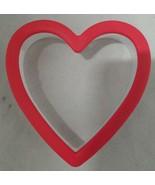 Wilton Red Heart Comfort Grip Cookie Cutter Plastic - $6.92