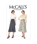 McCall Pattern Company M6993 Misses' Skirts and Belt, Size E5 (14-16-18-20-22) - $14.21