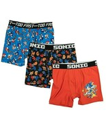 Sonic Hedge Hog Boy's Athletic Boxer Briefs Underoos X-SMALL (4) Foil Pr... - £12.83 GBP