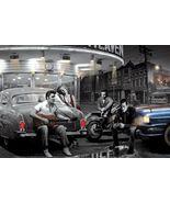 chris consani art poster  legendary crossroads 24x36 marilyn monroe elvi... - $22.00