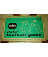 Vintage TUDOR Tru Action ELECTRIC FOOTBALL GAME w/ Box, Instructions (1961) - $39.10