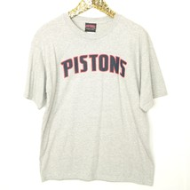Detroit Pistons Basketball NBA Mens T-Shirt Shirt Size L Large Grey Shor... - $16.20